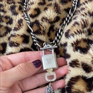 One of kind LV vintage locket necklace.